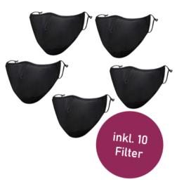 Mehrwegatemschutzmaske mit Filter
