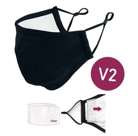 Atemschutz Mehrwegmaske mit Filter